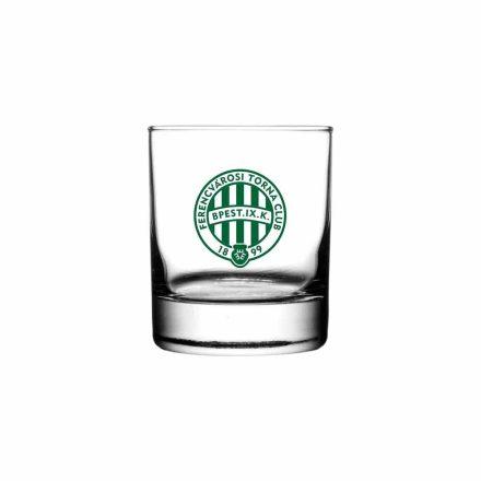 Fradi whiskys pohár kerek