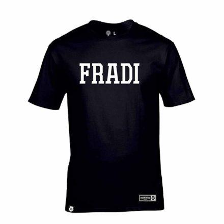 Fradi póló felnőtt FRADI fekete
