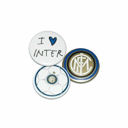 Inter kitűző 3 db-os