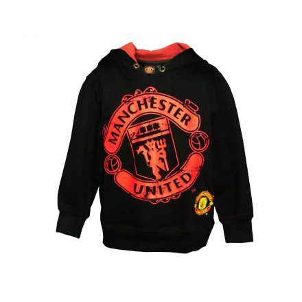 Manchester United pulóver gyerek kapucnis CREST