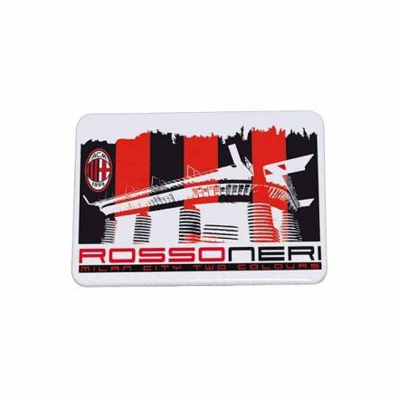 Milan hűtőmágnes fém rossoneri