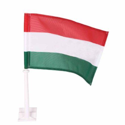 Magyarország zászló autós 30x45cm