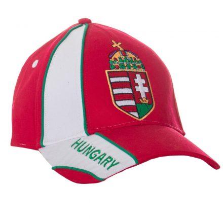 Magyarország baseball sapka címeres piros