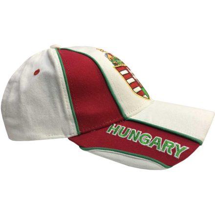 Magyarország baseball sapka címeres fehér