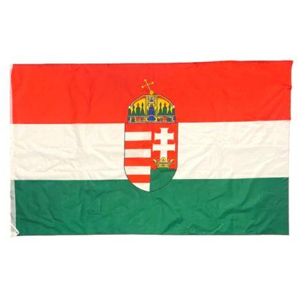 Magyarország zászló címeres 90x160 cm