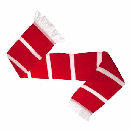 Arsenal sál csíkos piros-fehér