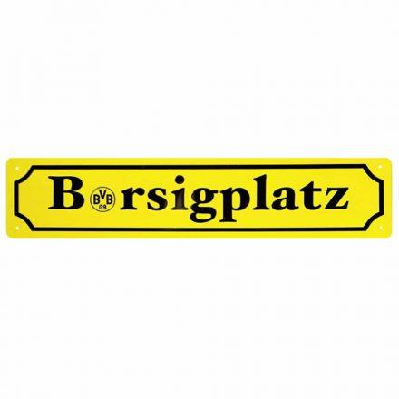 Dortmund rendszámtábla sárga BERSIGPLATZ