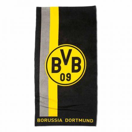 Dortmund törölköző 70x140 csíkos címeres