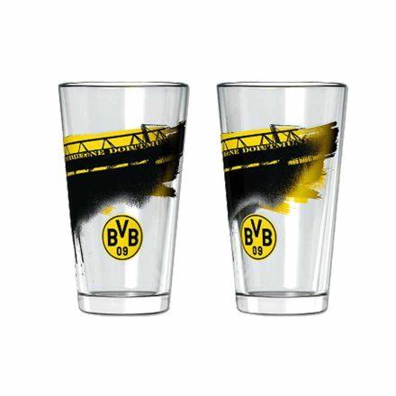 Dortmund pohárkészlet üditős 2 db-os Südtribune