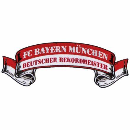 Bayern München felvarró REKORDMEISTER