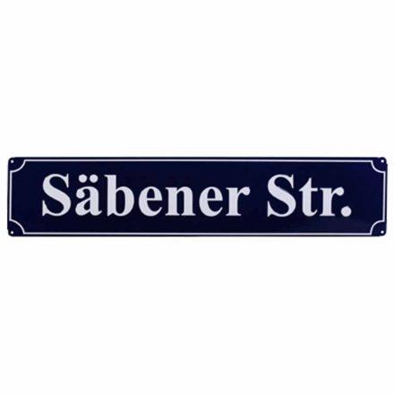 Bayern München utcatábla