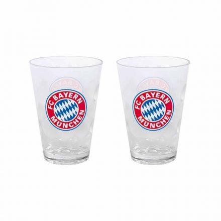 Bayern München pohár műanyag 2 db-os