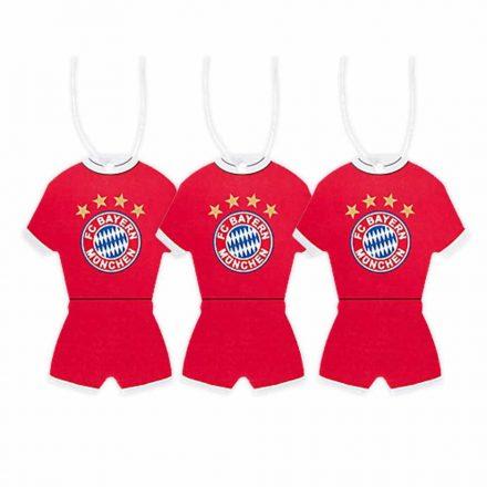Bayern München autós illatosító 3 db-os mezes 21652