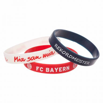 Bayern München karkötő szilikon 3db-os 22681