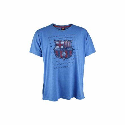 Barcelona póló gyerek HIMNE kék