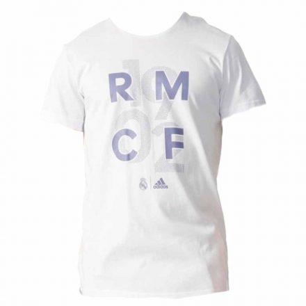 Real Madrid póló felnőtt ADIDAS RMCF1902