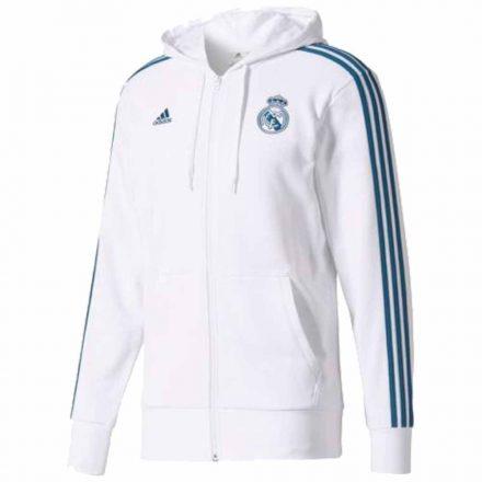 Real Madrid pulóver felnőtt kapucnis-zippes ADIDAS REAL1