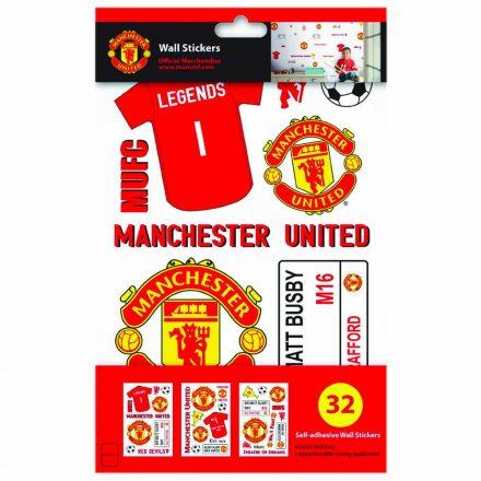 Manchester United matrica falra