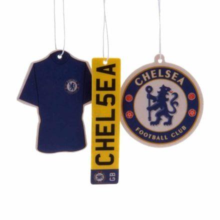 Chelsea autós illatosító 3db-os