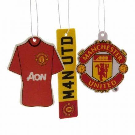 Manchester United autós illatosító 3db-os