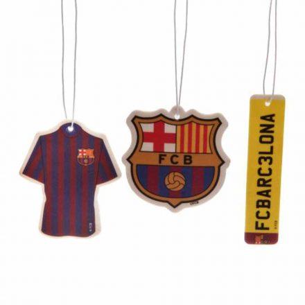 Barcelona autós illatosító 3 db-os