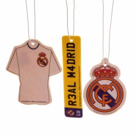 Real Madrid autós illatosító 3 db-os