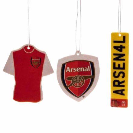 Arsenal autós illatosító 3 db-os