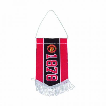 Manchester United zászló ötszög kicsi ESTABLISHED