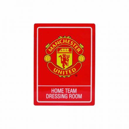 Manchester United tábla Home Team Dressing Room