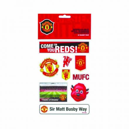 Manchester United hűtőmágnes készlet A5