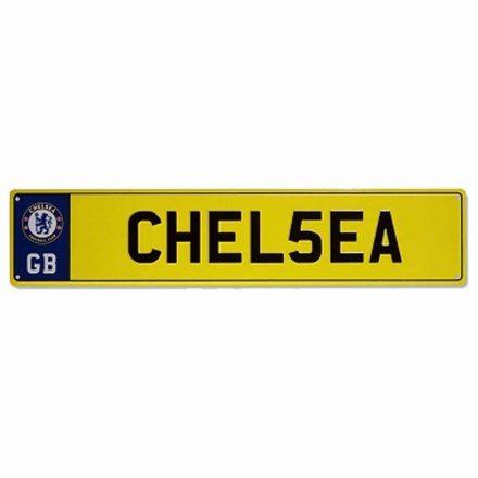 Chelsea rendszámtábla