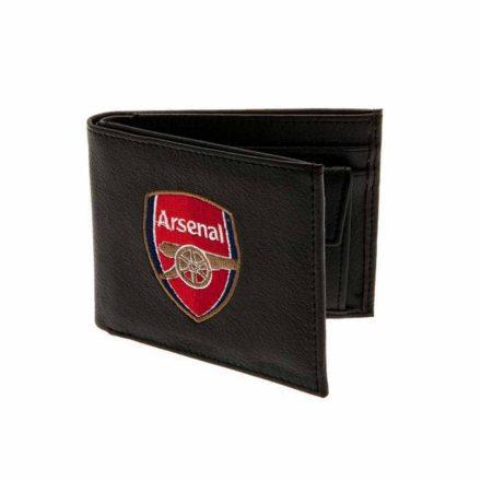 Arsenal pénztárca bőr hímzett