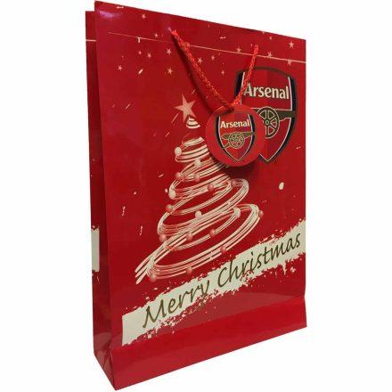Arsenal ajándékszatyor medium Merry Christmas