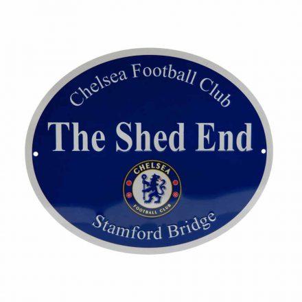 Chelsea tábla kerek The Shed End