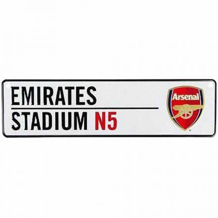 Arsenal tábla fém autós