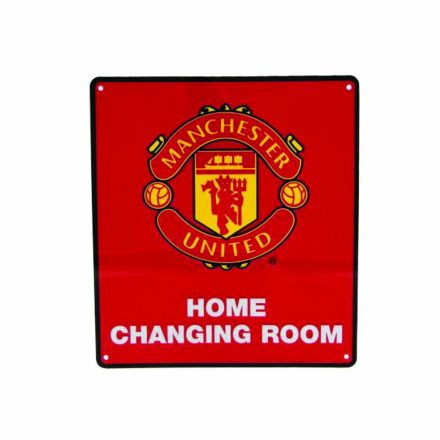 Manchester United tábla - Home Changing Room