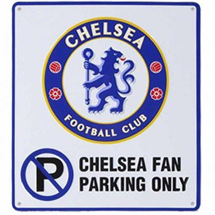 Chelsea tábla FAN PARKING ONLY