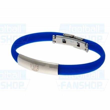 Chelsea karkötő szilikon fém csatos CHE5011SS