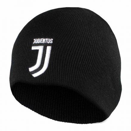 Juventus sapka kötött fekete