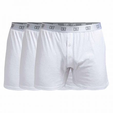 CR7 basic boxer 3 db-os fehér