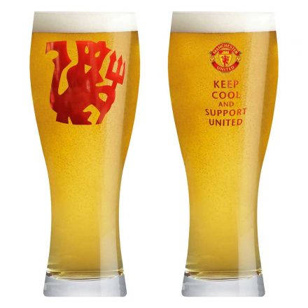 Manchester United söröspohár 500ml Keep cool and support United