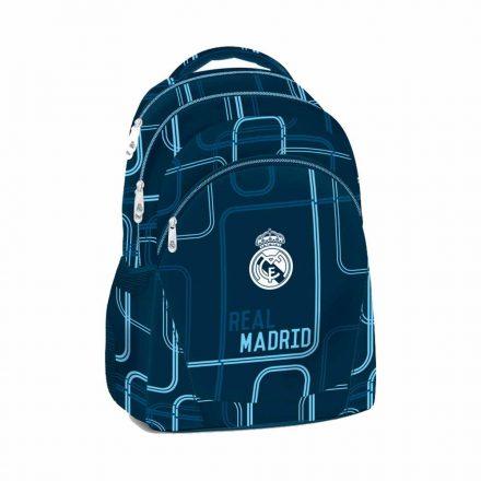 Real Madrid hátizsák 3 zip tinédzser LINEA