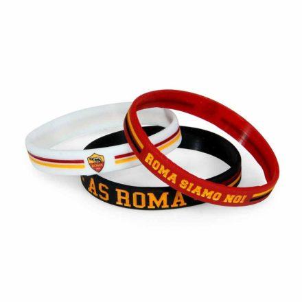 Roma karkötő szilikon 3 db-os fekete-piros-fehér RM1305