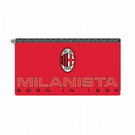 Milan tolltartó lapos piros Milanista