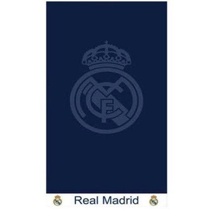 Real Madrid törölköző Jacquard s.kék 100 x170 cm