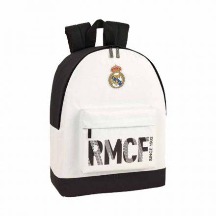 Real Madrid hátizsák 2 zip RMCF BLANCO