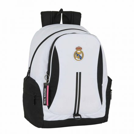 Real Madrid hátizsák 2 zip BLANCO3