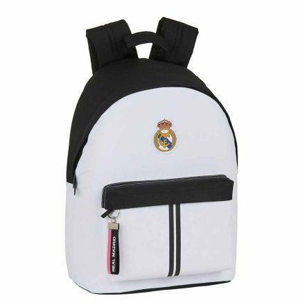 Real Madrid hátizsák 2 zip BLANCO1
