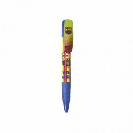 Barcelona toll klipszes sárga-piros csíkos