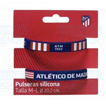 Atlético Madrid karkötő szilikon 2db-os PR-03-ATL felnőtt